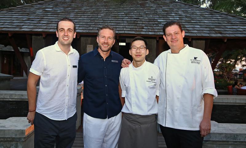 What the Molecular nights! Iron Chef Thailand Winner Prasertchai Popped Up at Ginja Taste