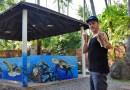 Patrick REDL Wehrli Debuts his Graffiti in the Mai Khao Marine Turtle Foundation