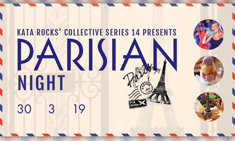 Kata Rocks collective series XIV – Parisian Night
