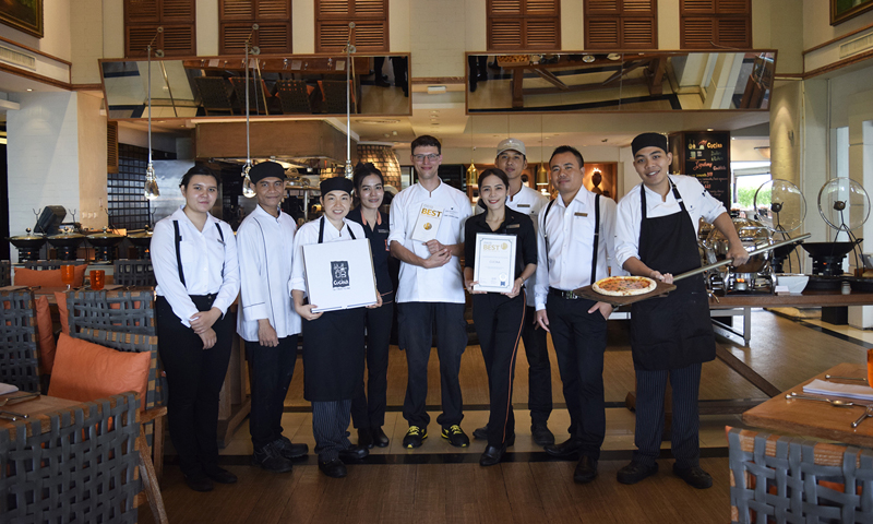JW Marriott Phuket's Cucina Italian Kitchen scoops up Thailand Tatler Best Restaurants 2019 Award