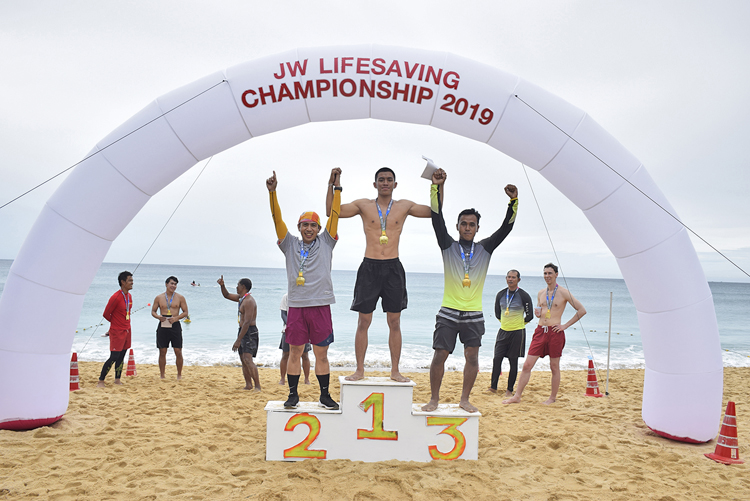 JW Marriott Phuket Resort & Spa hosted the 1st JW Lifesaving Championship 2019
