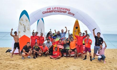 JW Marriott Phuket hosted the 1st JW Lifesaving Championship 2019