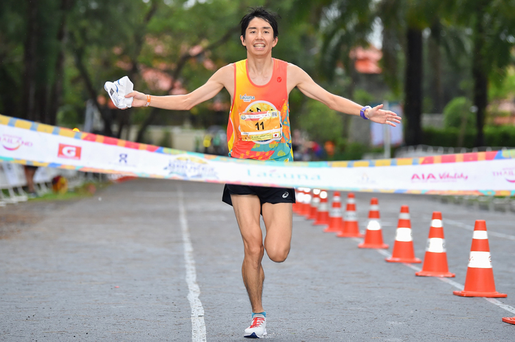 Filipino and Japanese runners shine at 2019 Laguna Phuket Marathon 12,000-plus runners from all walks of life make 2019 a record turnout