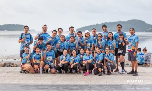 Novotel Phuket Phokeethra participates in the sponsorship of the 'Bangkok Airways Phuket Half Marathon 2019'