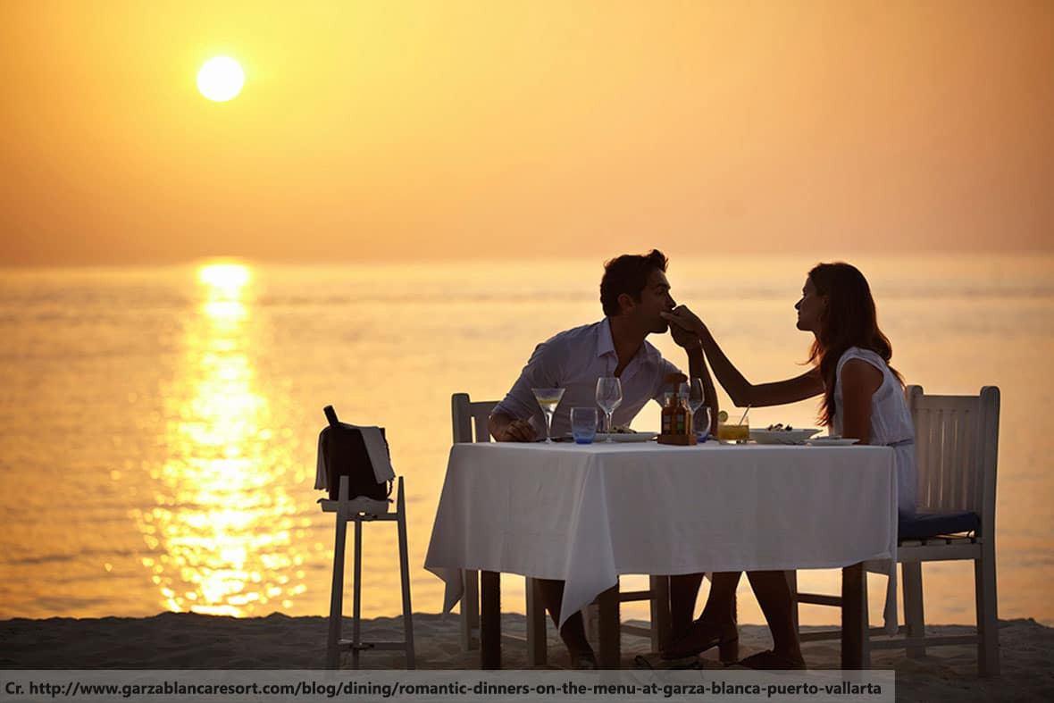 Romantic dinner in Phuket