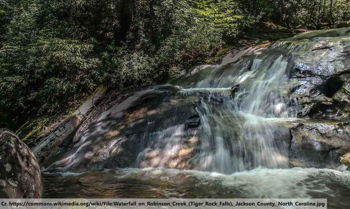 Waterfall in Phuket