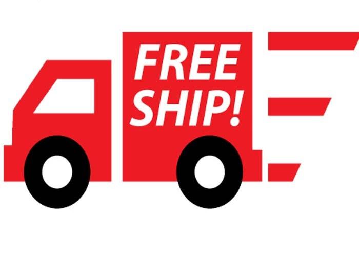 Các đơn hàng được FREE SHIP