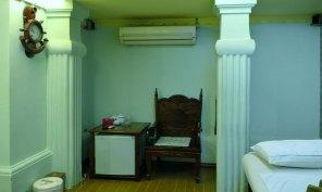 Ghế nghỉ Phòng VIP Ai Cập dịch vụ massage khách sạn Phú Thọ quận 11