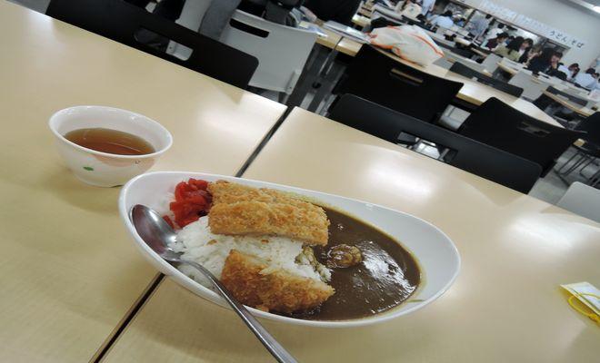 カツカレー|文教大学越谷キャンパス学食