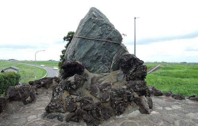 浅間大神の石碑