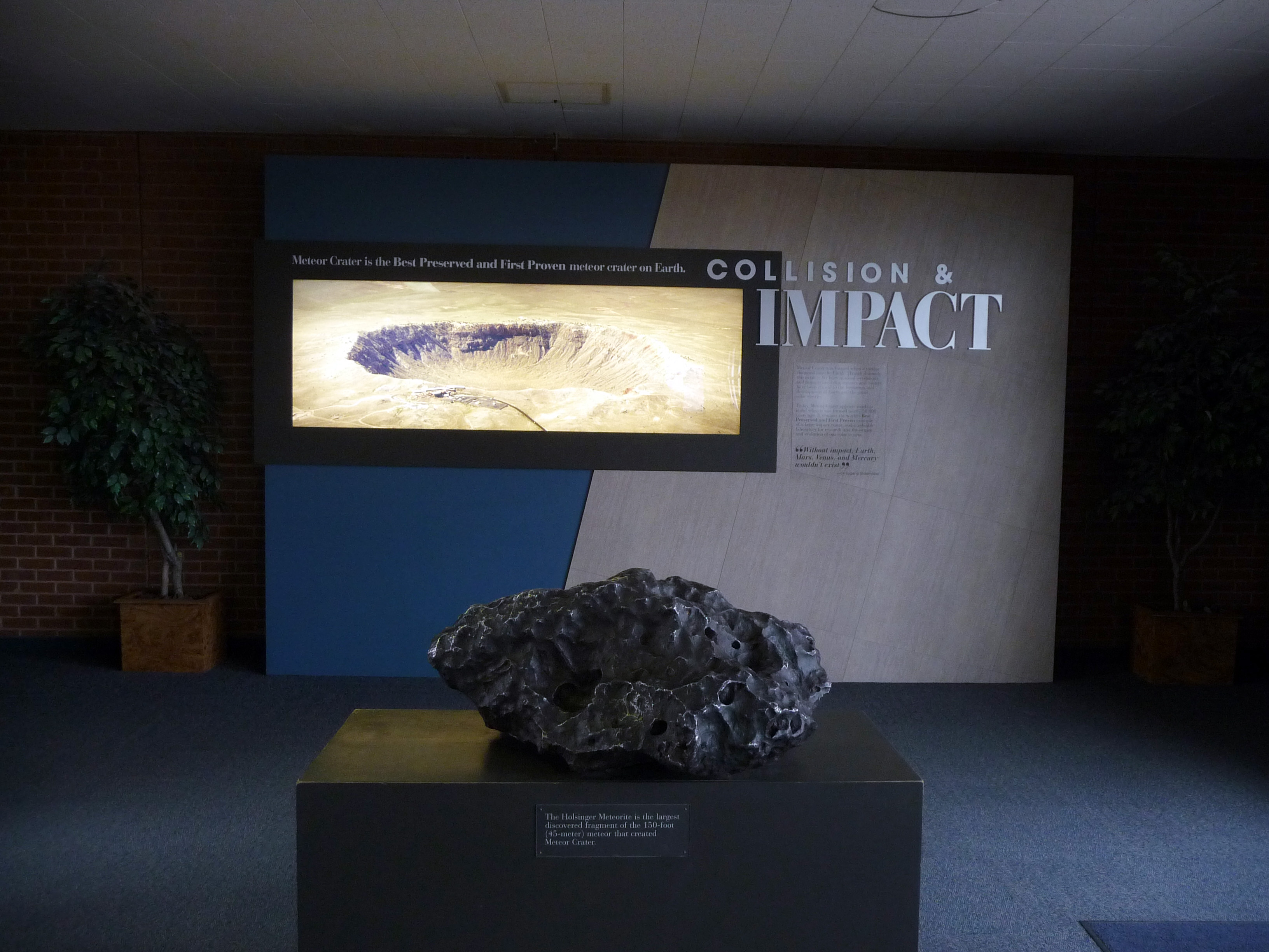 The meteor crater museum