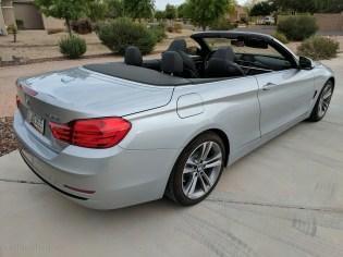 BMW 430i convertible.