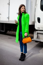 Hanneli Mustaparta keeps the neon trend at the forefront.