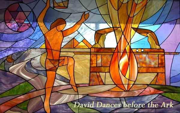 David dances before the Ark