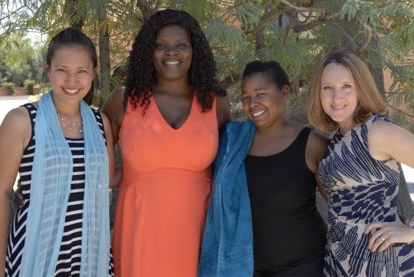 What an incredible joy to see Tasha (second from right) baptized into Christ! The sisters rejoiced along with the whole family of God here in Phoenix! Certainly, no one could be as fired-up as our God in heaven who welcomes Tasha home as his daughter!