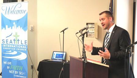 Joel Parlour - Seattle Inaugural Service Sermon