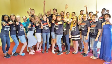 """The fired up Moscow Campus / Teen Ministry believes """"nothing is impossible with God!"""""""