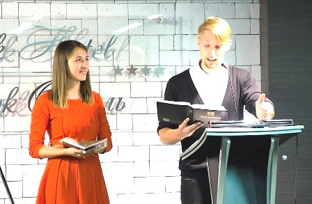 Alexander & Masha - the dynamic Moscow Campus Ministry Leaders!