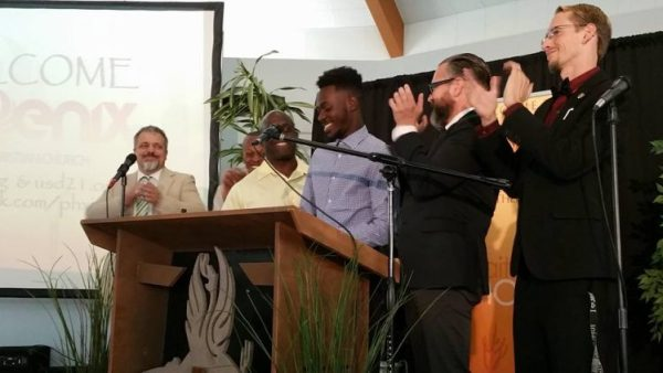 The brother's household rejoices with the Father and his angels at the restoration of their dear brother, Caleb Moore!