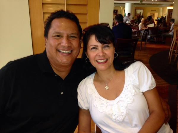Cathi with her Husband LuJack - They serve together to oversee the East Region of the City of Angels International Christian Church as Evangelist and Women's Ministry Leader!  They are an encouragement to all, reminded us we need to be 'quieted by God's love'