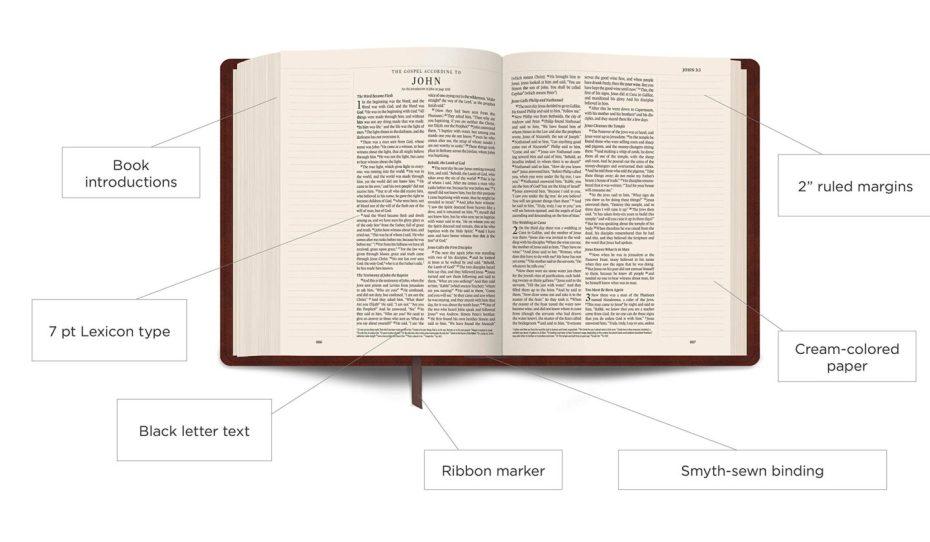 ESV Notetaker's Bible