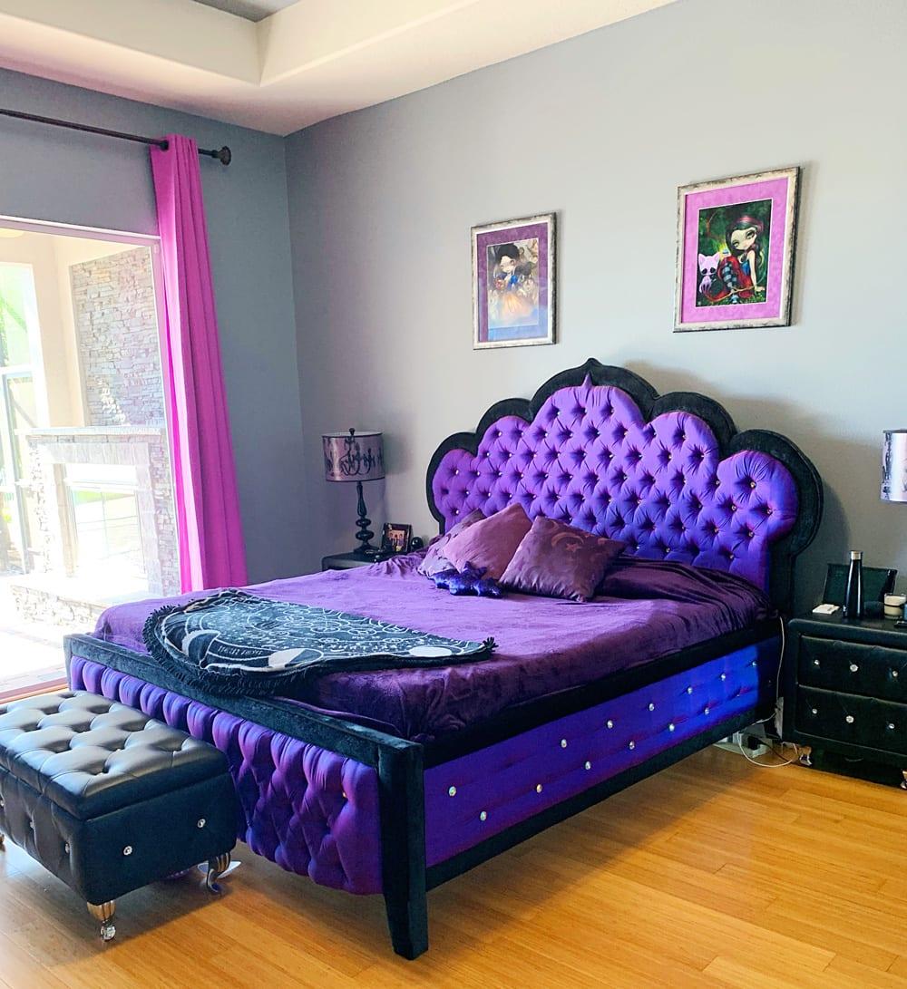 title   Gothic Bedroom