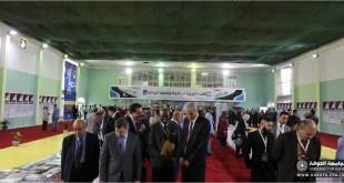 ضمن منهاج المؤتمرالعلمي الدولي الاول لكليات التربية البدنية وعلوم الرياضة في جامعات العراق أقامة معرضا للكتاب