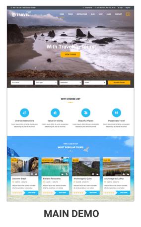 Tour Travel WordPress Theme - Travel WordPress Theme