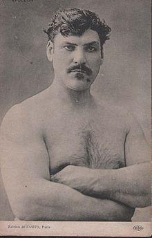 Image of French Strongman Apollon