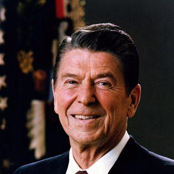Official portrait of Ronald Reagan