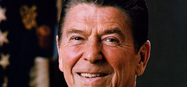 Official portrait of Ronald Reagan