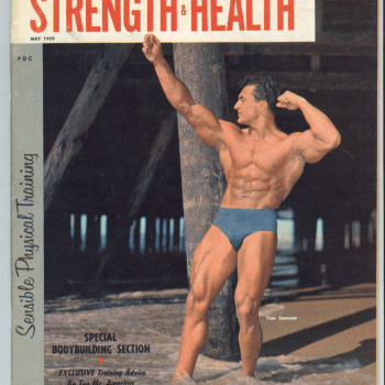 Strength & Health Magazine Cover May 1959