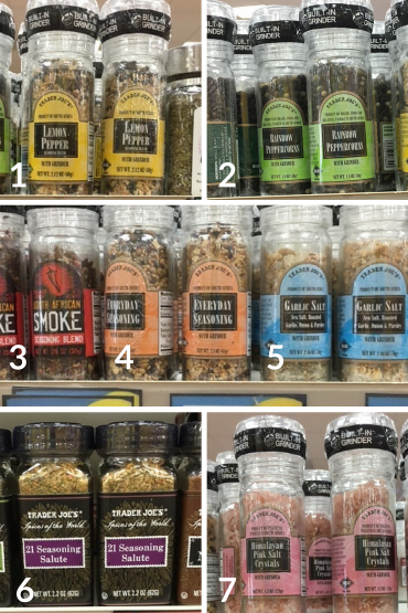 The Ultimate Trader Joes Whole30 Shopping List Spices