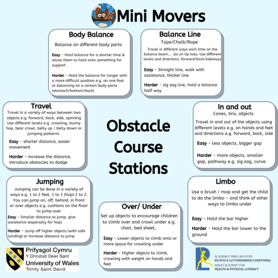 Obstacle Course Stations
