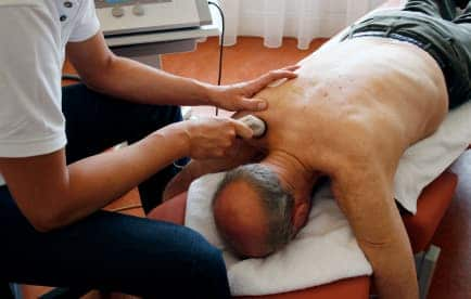 therapeutic ultrasound for shoulder rehabilitation