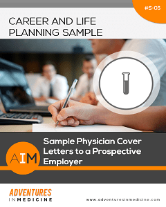Sample Physician Cover Letters to a Prospective Employer   Physician     Sample Physician Cover Letters to a Prospective Employer   Physician Career  Planning