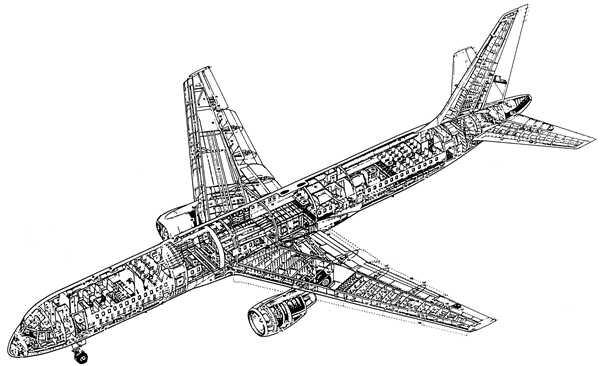 Struttura di un Boeing 757