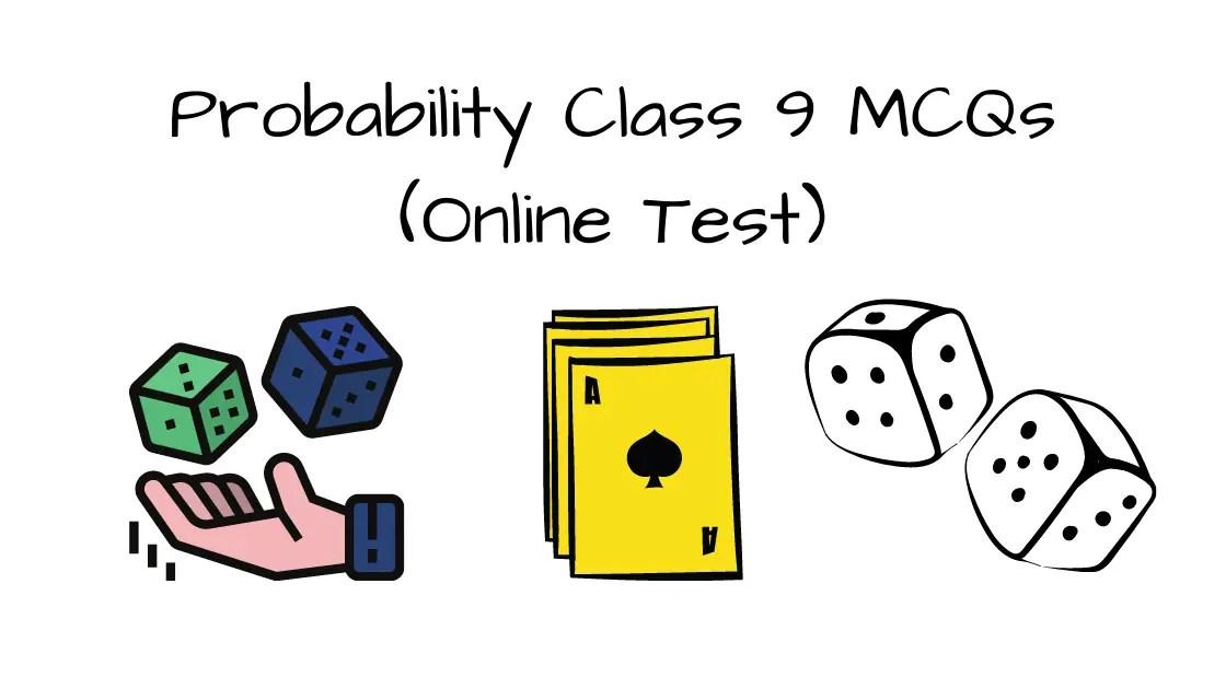 probability class 9 mcq online test blog banner