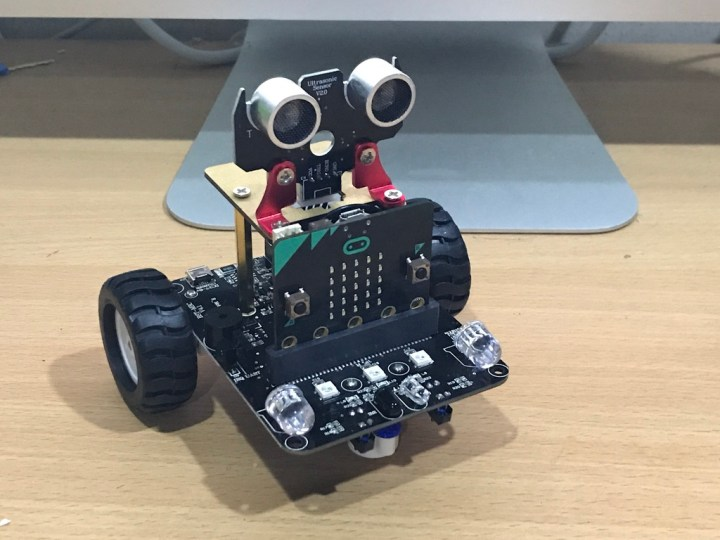 Microbit Line Following Robot