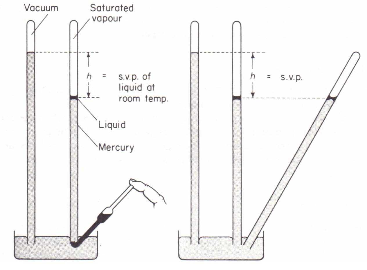 Saturated Vapour Pressure Does Not Depend On Volume Physics Homework Help Physics Assignments