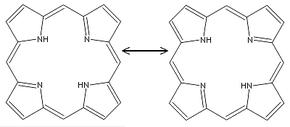 Porphin_resonance_structures