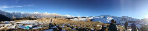 Department of Physiotherapy Trip to Auli-1
