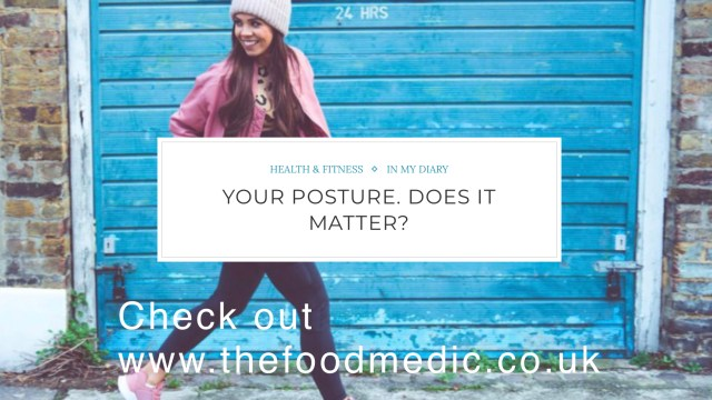 Your Posture. Does It Matter.
