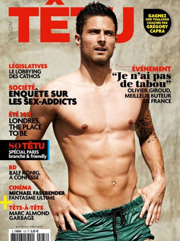 Olivier-Giroud-torse-muscle-foot-sexy2014
