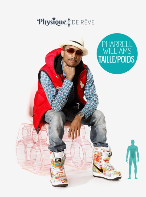 pharrell-williams-taille-poids-physique-style