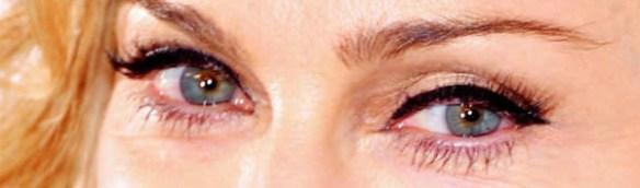 madonna-yeux-verts