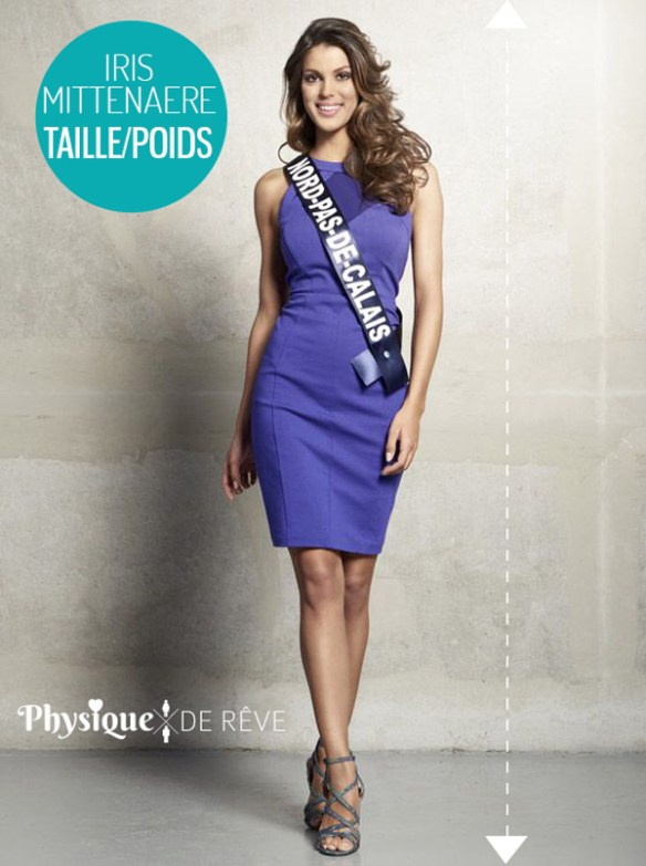 iris mittenaere miss france 2016 taille poids mensurations