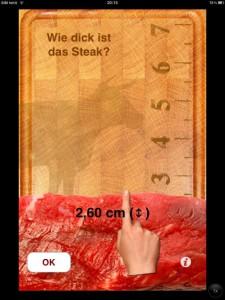 So dick ist das Steak