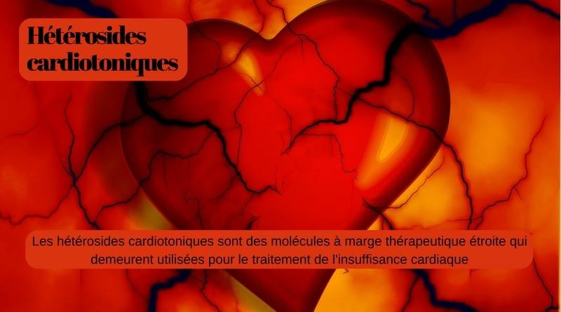 hétérosides cardiotoniques