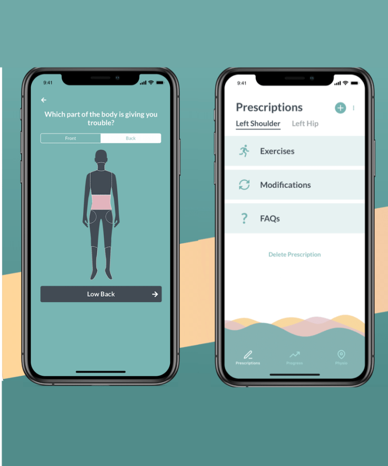 physiotherapy app, App